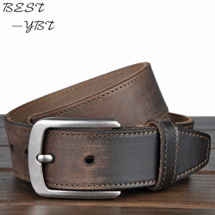 Fashion High Quality Belt Men Genuine Leather 100 Cowhide Man Made Belts For Men