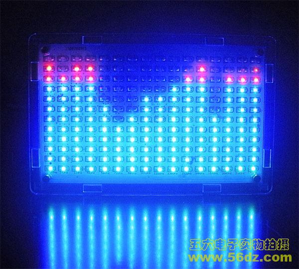 Kit diy suíte de Produção de Música LEVOU espectro espectro nível display cúbico Luz espectro Música kit de treinamento eletrônico DIY