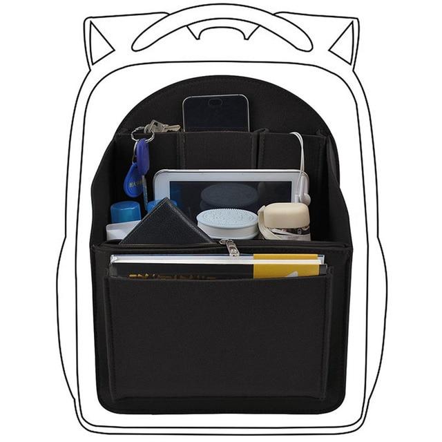 Felt Travel กระเป๋าใส่กระเป๋าเป้สะพายหลัง,กระเป๋าสำหรับบุรุษ,ผู้หญิงกระเป๋าเป้สะพายหลัง Mummy Shoulder Tote กระเป๋ากระเป๋าถือกระเป๋าถือ