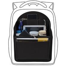 Keçe seyahat çantası ekle sırt çantası organizatör, çanta organizatör erkekler için, kadınlar için sırt çantası mumya kol çantası çanta çanta organizatör