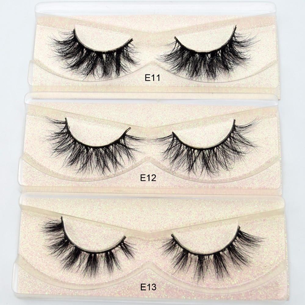 Image 4 - Visofree Mink Lashes 3D Mink Eyelashes 100% Cruelty free Lashes Handmade Reusable Natural Eyelashes Popular False Lashes Makeup-in False Eyelashes from Beauty & Health
