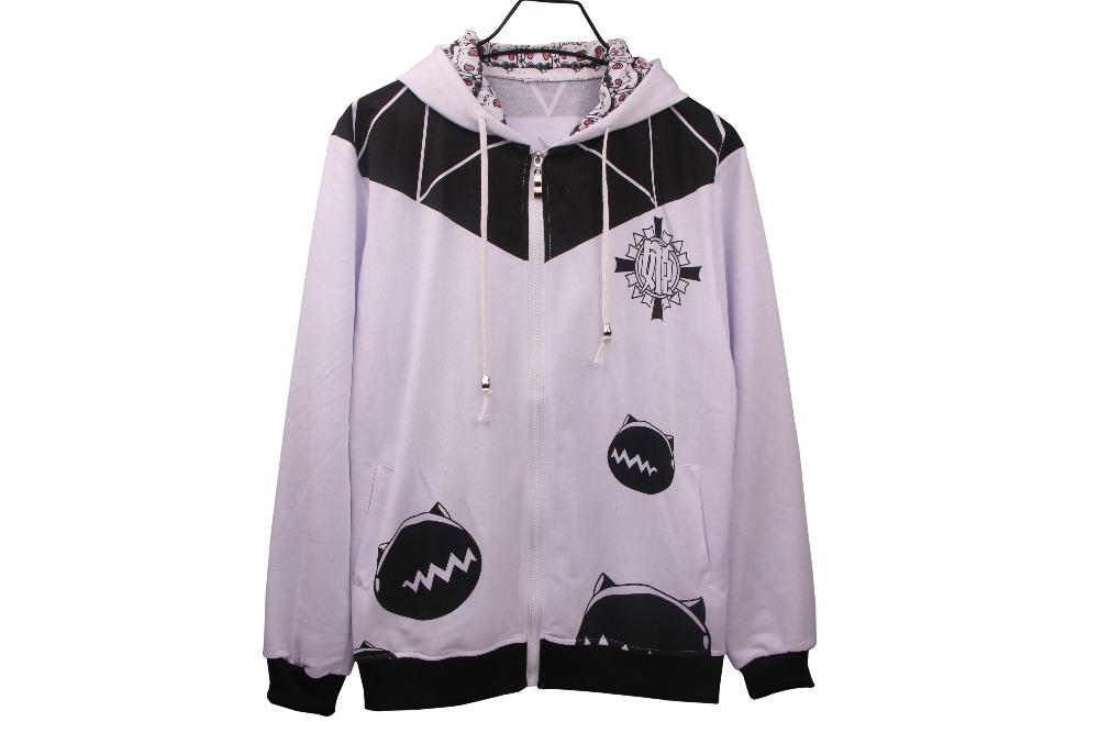 Men Women Casual Fashion In  Spring And  Autumn  Zipper Jacket In  Black  And  White ZXS-xhcollection02