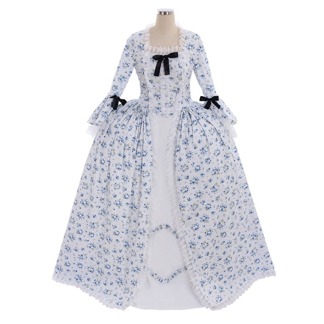 Cosplaydiy Custom Made Marie Antoinette Baroque Medieval Dress Renaissance Costume Belle Rococo Ball Gown Dress L320  sc 1 st  AliExpress.com & Cosplaydiy Custom Made Marie Antoinette Baroque Medieval Dress ...