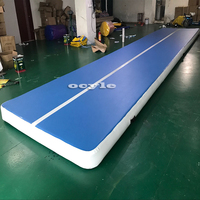 Fast Delivery Inflatable Air Track Mat For Sale Factory Price China Trampoline Inflatable Air Tumble Track Inflatable Gym Mat