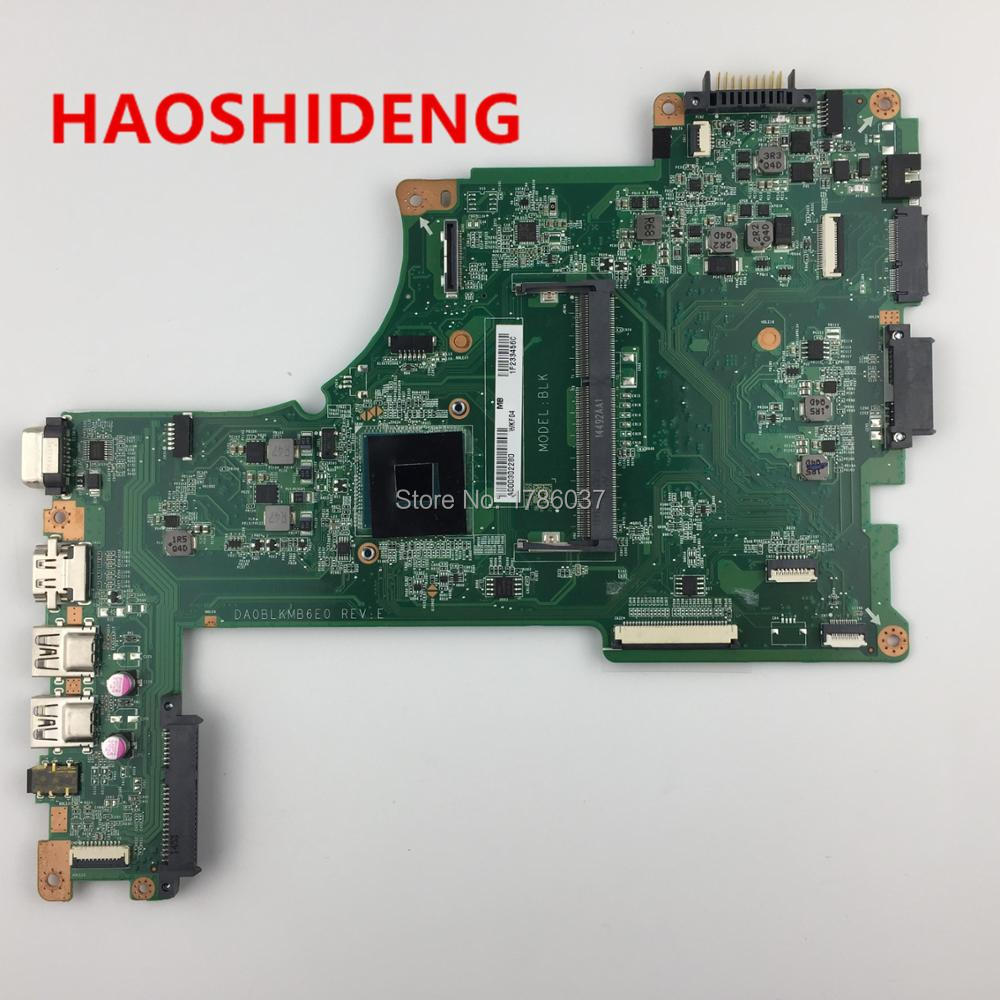 A000302280 DA0BLKMB6E0 for Toshiba Satellite L50-B L50T-B L55-B series motherboard.All functions fully Tested !