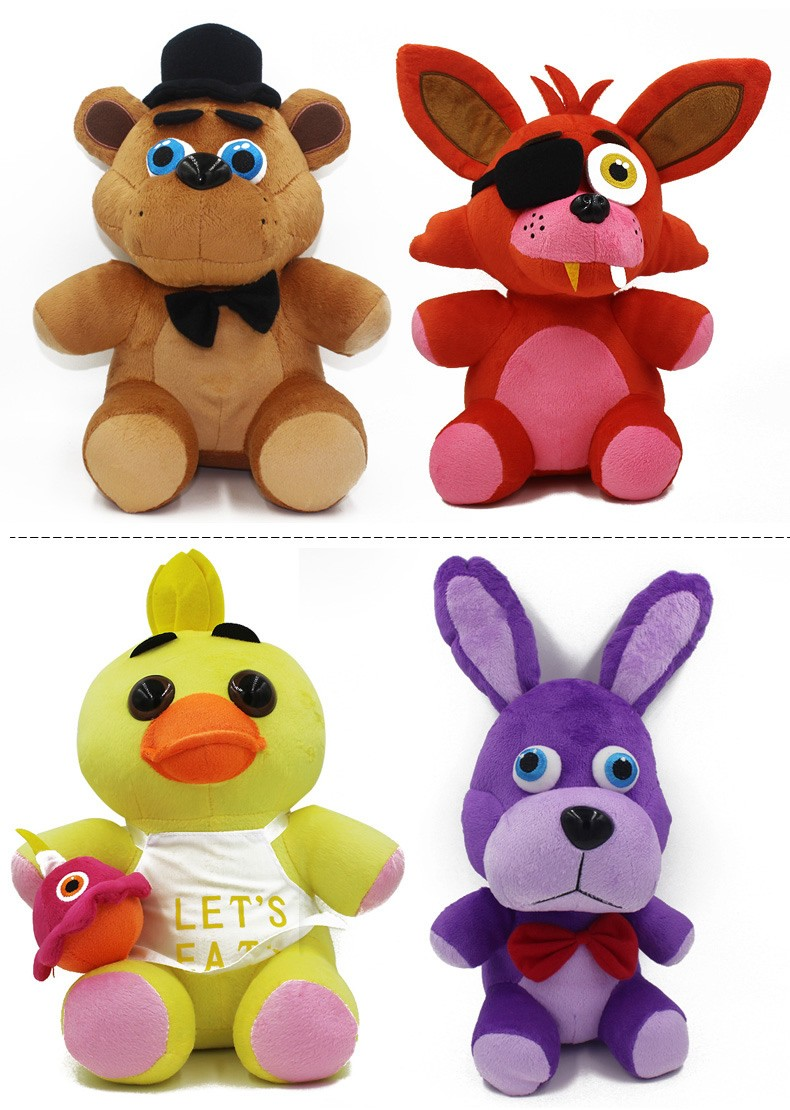 Anime Five Nights At freddy Foxy Anime Pokemon Plush Toys  High Quality Christmas Toys Kids Toys For Girls (2)