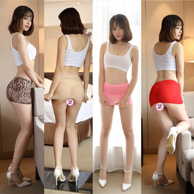 Femmes Sexy Micro rouge noir jupes voir à travers Transparent mignon court Mini jupe boîte de nuit serré paquet hanche jupe 77