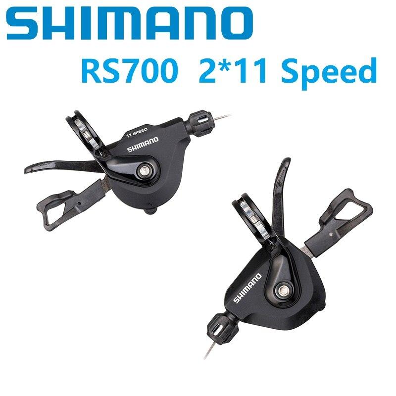 Складной велосипедный переключатель Shimano RS700 2*11 скорость 22 скорость рычаг переключения шоссейный город велосипедный складной велосипед