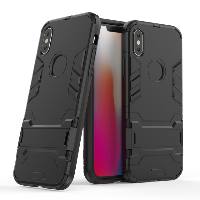 release date: e2b5e 99614 US $3.49 22% OFF|For Apple iPhone X XR XS Max Case Luxury Iron Man Armor  Hard Stand Kickstand Hybrid TPU Shockproof Phone Protection Cover Case-in  ...