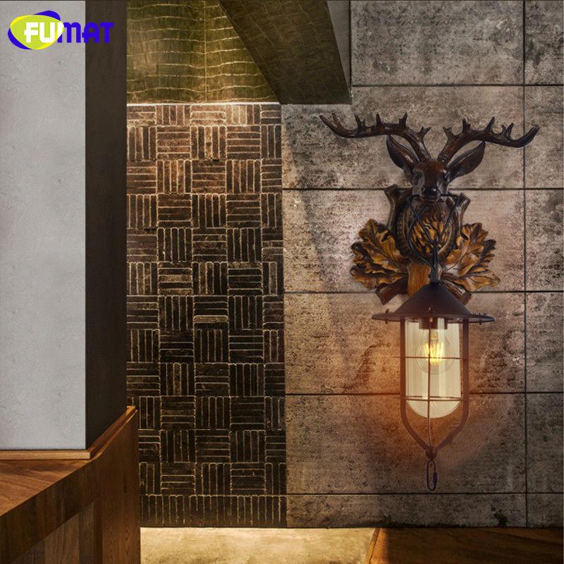Deer Head Wall Lamp 14