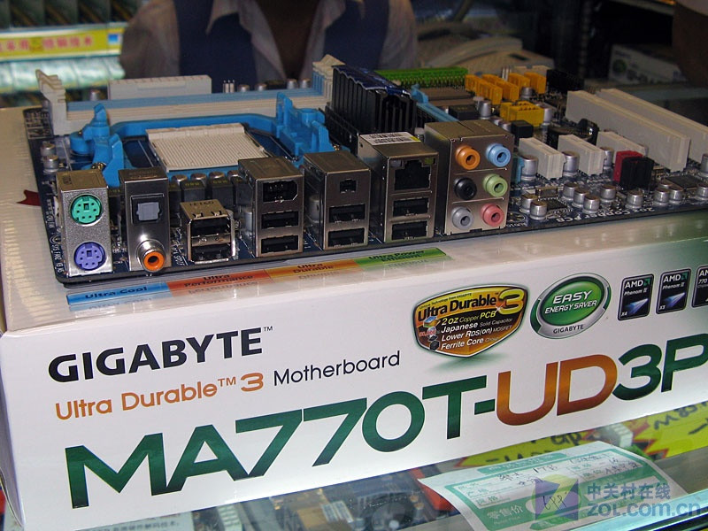 Gigabyte GA MA770T UD3P Motherboard For AMD 770 DDR3 USB2 0 16G Socket AM3 MA770T UD3P Desktop Mainboard Systemboard Used in Motherboards from Computer Office