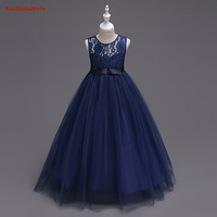 שמלה בסגנון נסיכה חמה למכירה BacklakeGirls לראשית הקודש זולות פרח שמלות טול תחרה עם קשת צבע Mulity