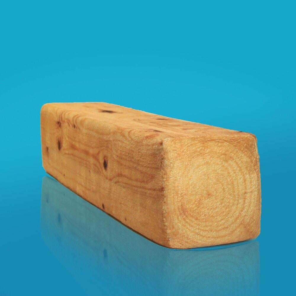 1 stück Komfortable Kissen Holz Log Kissen Hohe Quingity Baumstumpf Holz Textur Werfen Kissen Home Deco