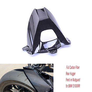 Motorcycle Carbon Fiber Glass Rear Hugger Fender Splashguard Mudguard Fairing for BMW S1000R HP4 2009-2016 S1000RR 2014-2017