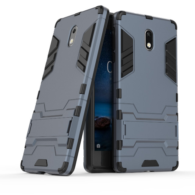 sale retailer ddb6c ce006 US $2.87 20% OFF|For Nokia 3 cover Hard Heavy Duty Armor Shield Shell cover  for Nokia 3 5.0 inch phone cases-in Half-wrapped Case from Cellphones & ...
