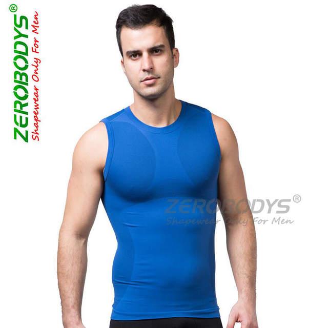 bd4514ca7ebea Men s Hot Slimming Body Shaper Belly Fatty thermal breathable underclothes men  Vest Corset Compression quick-