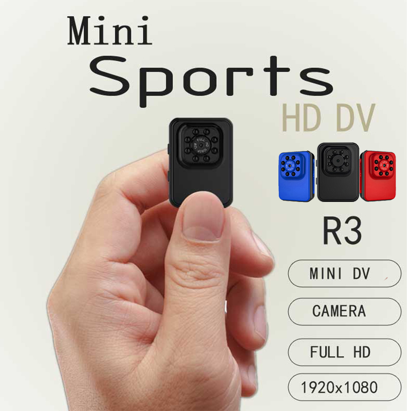 R3 Mini camera HD 1080P Camera usb 2.0 port Night Vision Mini wireless Camcorder Action Camera DV DC Video voice Recorder r30 wireless mini camera wifi night vision 1080p hd mini camcorder outdoor camera voice video recorder action camera support tf card