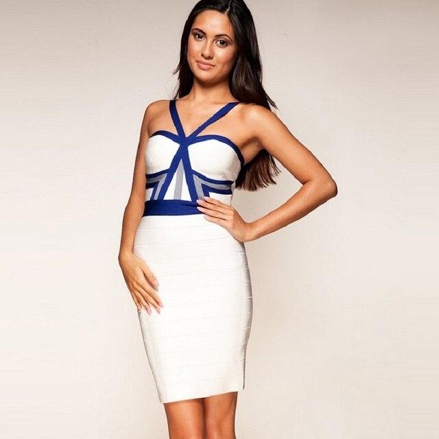 896b51154cc sexy white 2018 china cheap women dress vestidos backless short sexy halter  celebrity night club party Dresses bandage dress