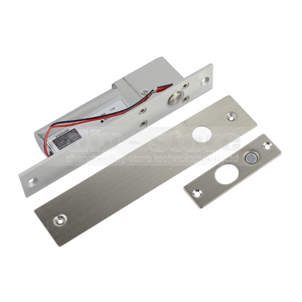 New Electric Drop Bolt Lock Fail Safe Door 12v Low Hold Cur For Access Control System