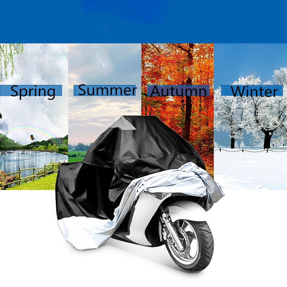 Chunmu Motorcycle Cover ATV Scooter Dustproof Waterproof Sun Ice Snow Block Protective Outdoor Bike Motor Protector Funda Motor