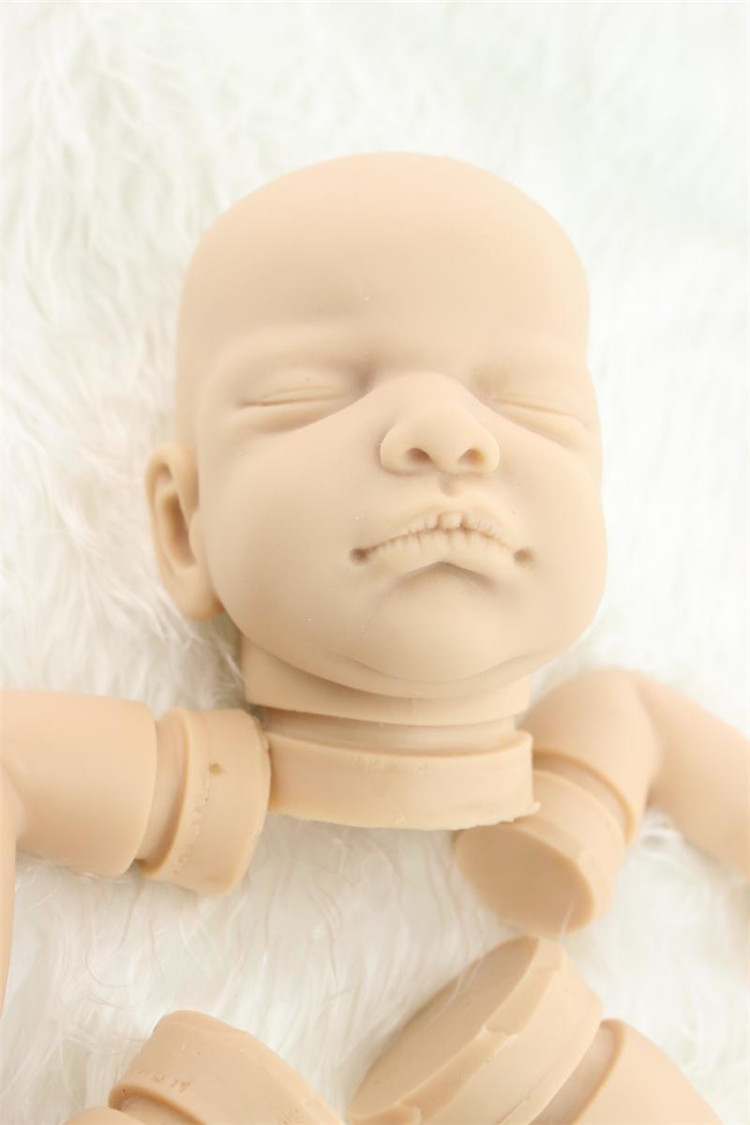 Solid silicone reborn baby doll kit/reborn-doll-kits  Rare limited unpainted blank doll kit