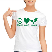 """Chicks love Vegans"" + other designs women t-shirt"