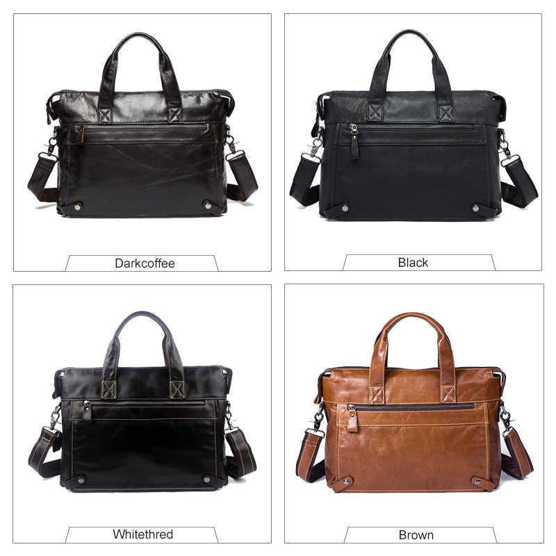 2e8cd6b66782 ... WESTAL Горячая распродажа сумка мужская натуральная кожа через плечо сумки  мужские мужская сумка мужская портфель мужской