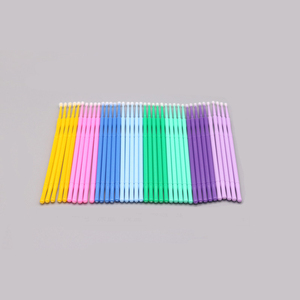 Image 4 - 100pcs/pack Microblading Micro Brushes Swab Lint Free Tattoo Permanent Supplies Tattoo Accessories