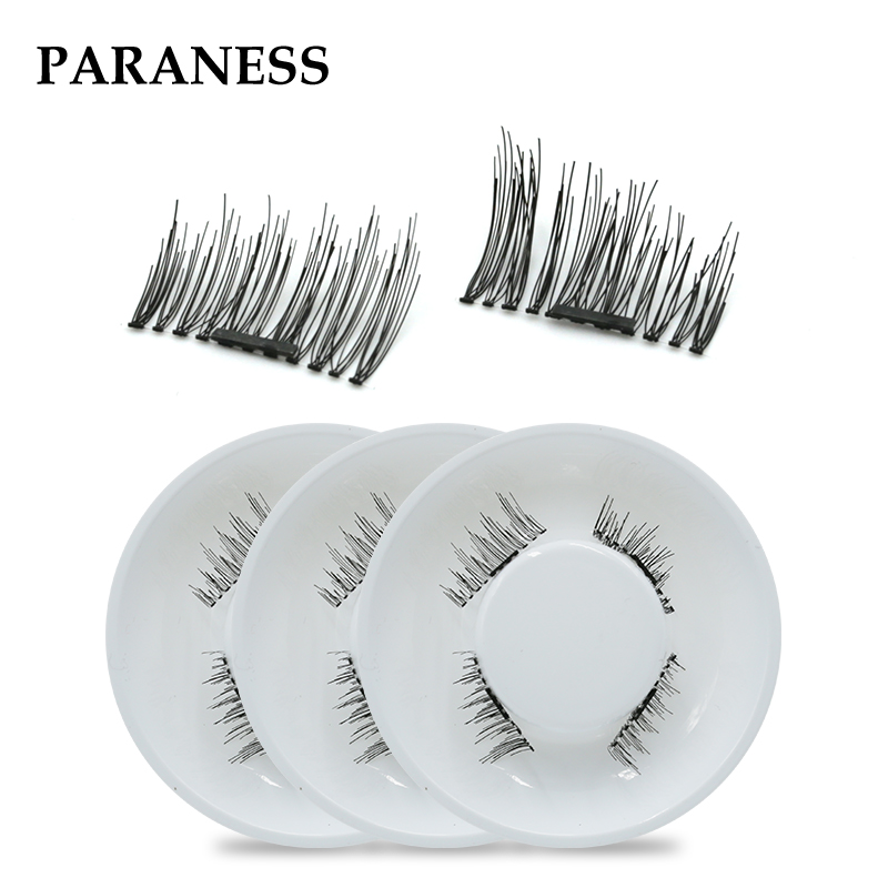 2018 3d natural eyelashes magnetic mink eyelashes extension lashes mink eyelashes 3d mink hair lashes eyelash magnets nature