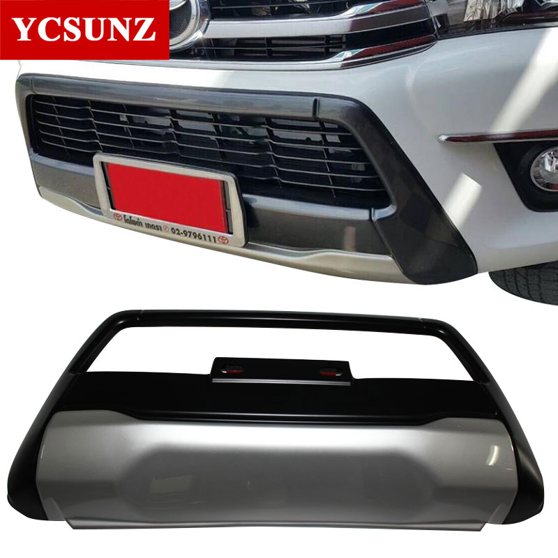 2015 2017 front over bumper for toyota hilux revo accessories exterior accessories for toyota hilux revo