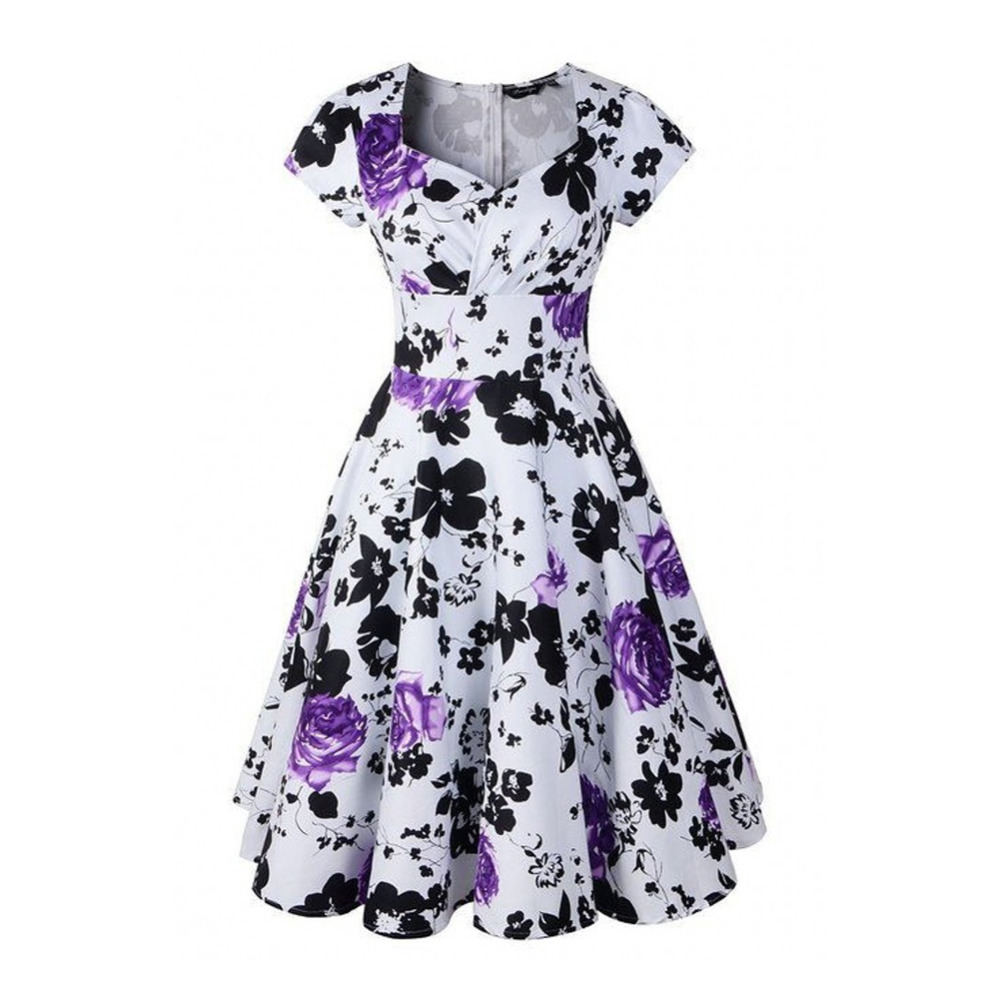 Amazing  New Style Summer Retro Dress Vestidos Robe Womens Clothing  DaffyDeal