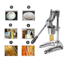 ITOP Food Processors Potato Chips Squeezers Machine Manual French Fries Cutters Long 30cm Chip 6mm Hole
