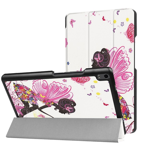 Slim case for Lenovo TAB 4 8 Plus stand cover case for TAB 4 TB-8704N/TB-8704F (2017 new release) cover case+gift new print luxury magnetic folio stand fashion prints flower leather case cover for lenovo tab 3 8 plus tab3 p8 tb 8703f tb 8703n