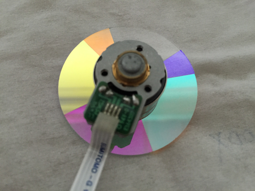 High Quality Color Wheel For Optoma HD33 HN911 Projector 1PC
