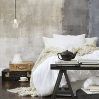 Stone Washed 100 LINEN BEDDING SET Incluidng 1 Duvet Cover And 2 Pillow Case Coznap Select