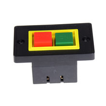 6 Terminal Sekrup AC 380 V 2KW I/O On-Off Start Stop Push Button Switch 7.3X4.7X3.8 Cm(China)