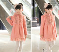 2014 Winter Latest Design Top Quality Children Girls Wool Coat,Children Outerewear,Girls Winter Coat Kids Clothing