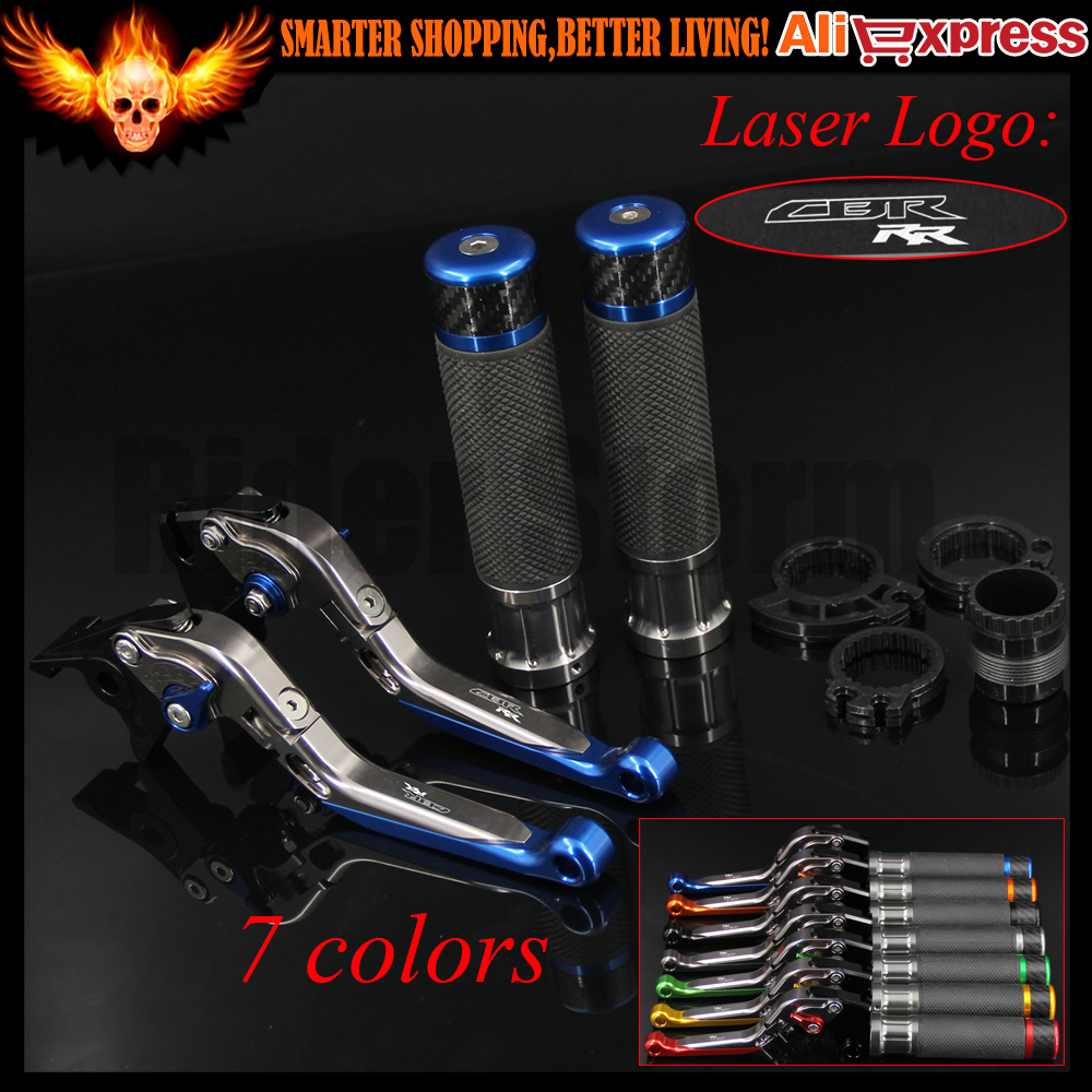 For Honda CBR600RR 2007 2008 2009 2010 2011 2012 2013 2014 2015 2016 CNC Motorcycle Brake Clutch Levers and Handlebar Hand Grips for honda cbr600rr 2007 2008 2009 2010 2011 2012 2013 2014 2015 gps mobile phone navigation frame bracket motorcycle accessories