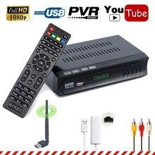 Koqit N/S America Digital Satellite Receiver DVB-S2 HD Receptor TV Tuner m3u IPTV Combo Wifi RJ45 Lan Youtube IKS Cline Biss vu