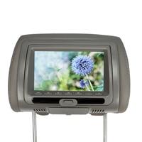 7 Polegada 800*480 carro encosto de cabeça monitor dvd player usb/sd/ir tft led tela 3 clour para opcional