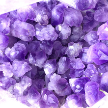 купить 1 kg energy stone 100% Natural purple amethyst crystal flower mineral reiki healing rough amethyst gemstone crystal wholesale онлайн