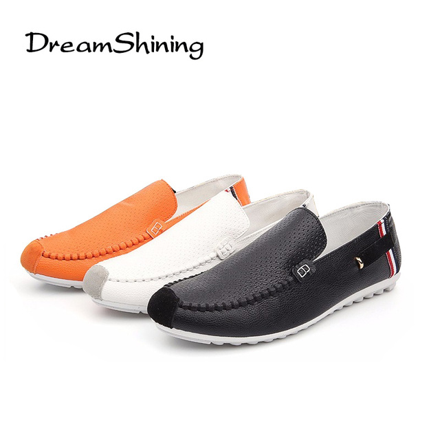 DreamShining Men Shoes Fashion  Summer Comfortable Sport Men Flats Casual Shoes Mesh Breathable  Size 39-44