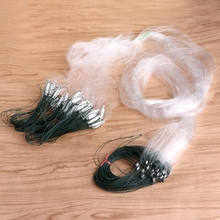 OOTDTY 25m Fishing Net Single Mesh Nylon Monofilament Gill Durable Accessory Float Trap