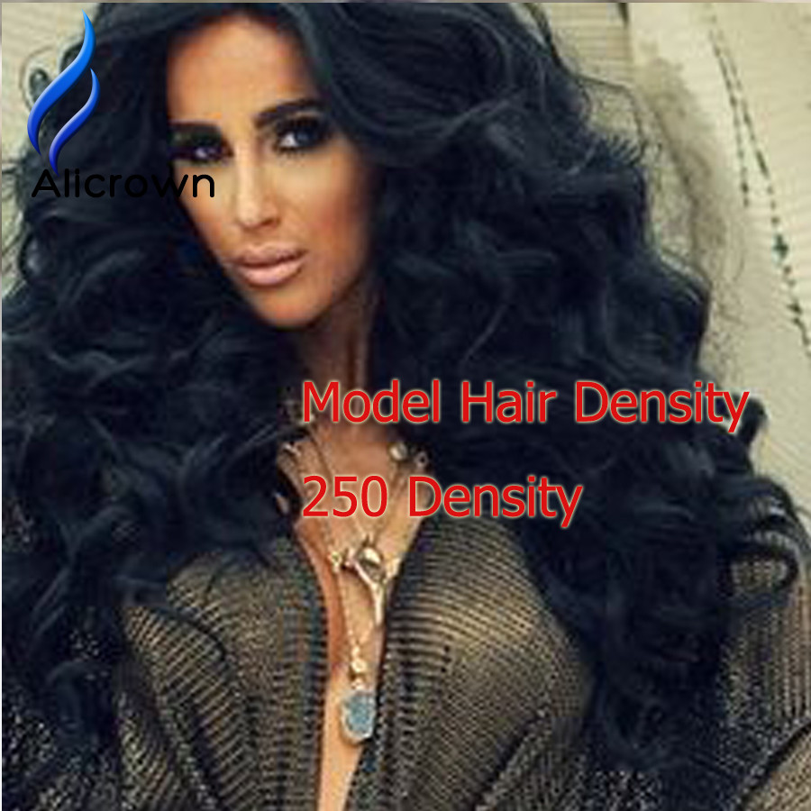 Alicrown 250 Density Full Lace Wigs For Black Women Human Hair Wig 8A Brazilian Virgin Hair Lace Front Wig Human Hair Lace Front (2)