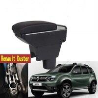 Für Renault Duster Armlehne box zentralen Speicher inhalt DUSTER armlehne box mit tasse halter aschenbecher mit usb schnittstelle-in Armlehnen aus Kraftfahrzeuge und Motorräder bei