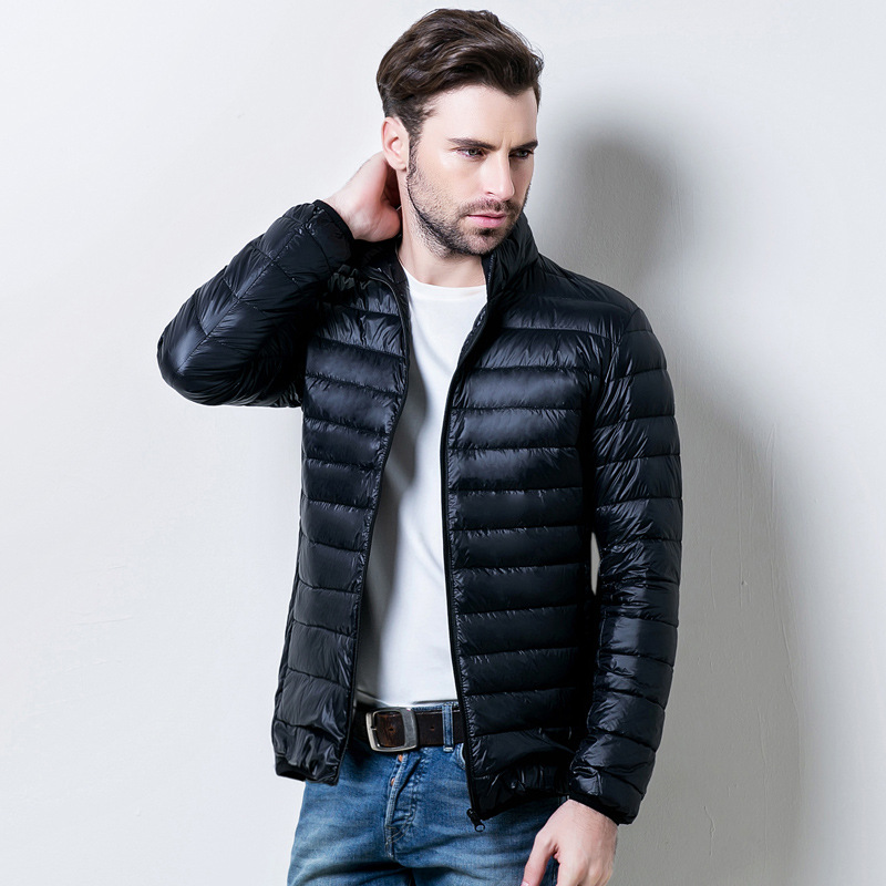 Mens Light Down Jacket | Fit Jacket