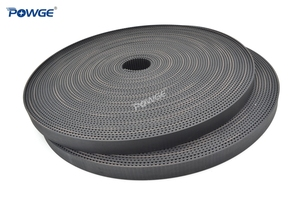 Image 2 - POWGE Arc Tooth HTD 3M timing belt 3M 9mm width 9mm Length 50000mm Rubber Fiberglass HTD3M open Synrhonous belt Pulley 50Meters
