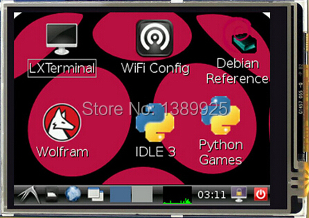 3 2 Inch TFT LCD Display Module Touch Screen For Raspberry Pi B B A