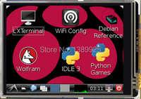 Gratis Verzending 3.2 Inch TFT Lcd-scherm Module Touchscreen Voor Raspberry Pi B + B Een + Raspberry pi 3