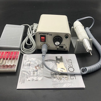 65W Strong 210 H20N handle STRONG 90 Nail Drills Machine Manicure Pedicure Electric File Bit Nails Art Equipment